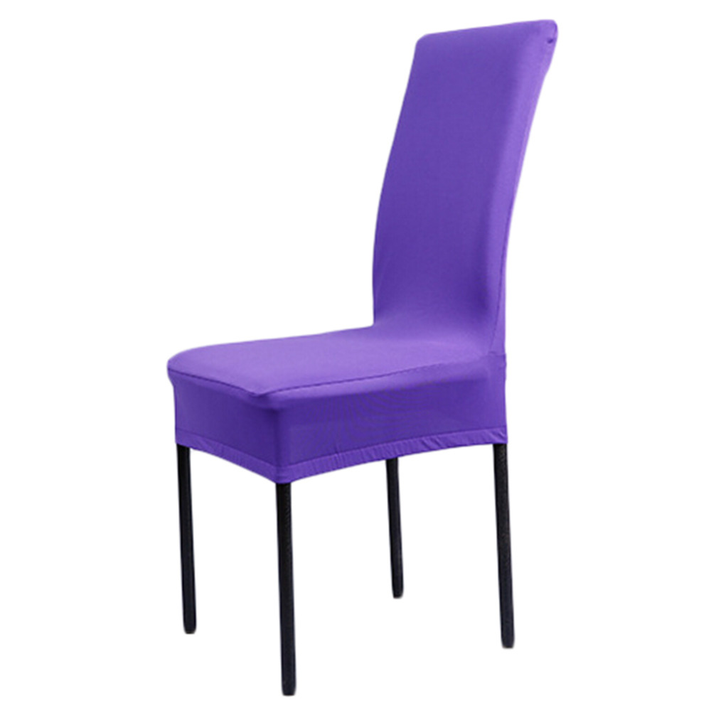 11colors modern spandex chair cover strech dining room for 6 dining room chair covers