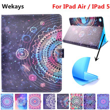 Wekays For Apple IPad Air 5 9.7 inch Stand Smart Leather Flip Fundas Case Coque IPad5 Tablet Cover