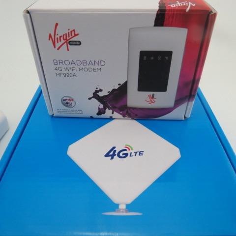 zte mf920a mobile hotspot 100mbps lte 4g 3g router modem. Black Bedroom Furniture Sets. Home Design Ideas