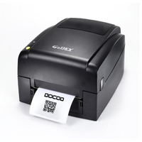 Quality thermal transfer printer EZ620 203dpi USB thermal barcode label printer support multi type stickers paper tag printer