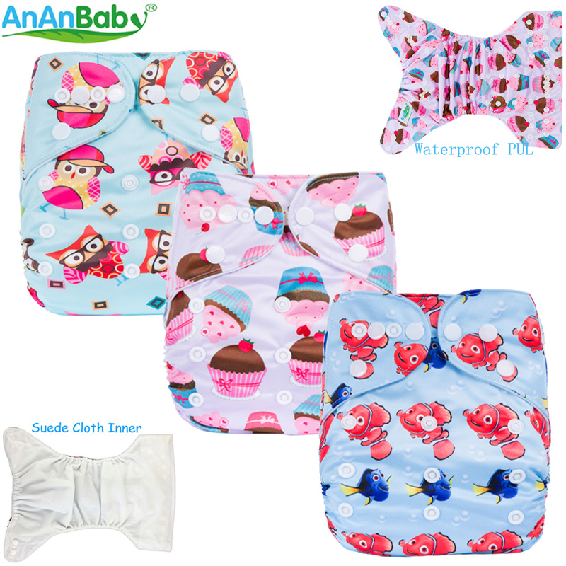 2018 New Pattern 1pcs Washable Reusable Baby Nappies Wholesale For Boys And Girls N Series