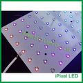 Multi color dc5v ws2812b endereçável rgb led matrix matriz rígida