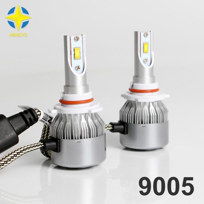 36 W 1 set, Mobil dipimpin Headlight12V sandal Chip 9005 6000 K - Lampu mobil - Foto 1
