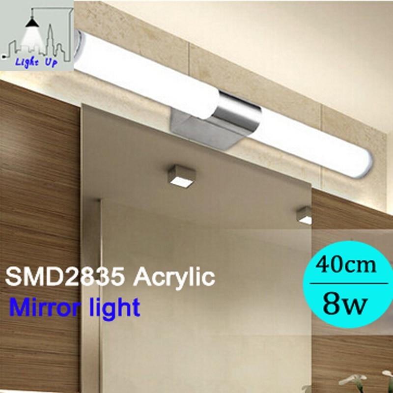 Led 8 w/40 cm waterdichte IP65 spiegel licht moderne korte lange ...