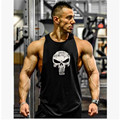 Men gyms tank tops Bodybuilding Men Cotton printed vest golds gyms Tank Top Men Sleeveless Shirts Muscle men gyms Clothing