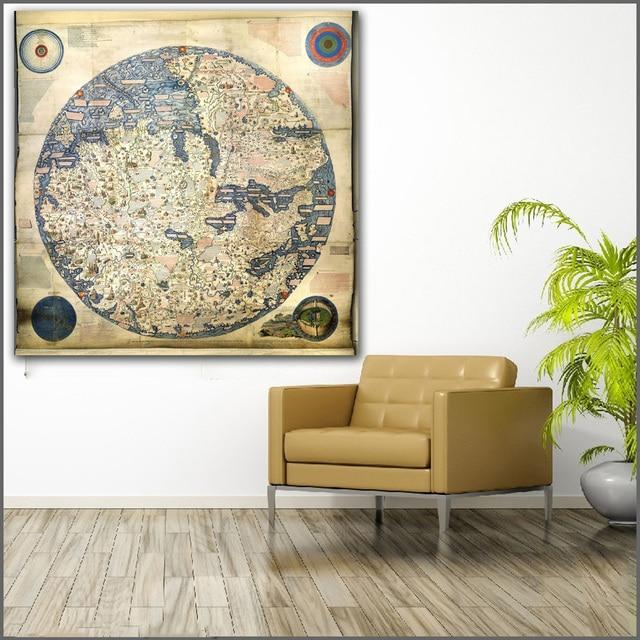 Wall Size World Map Galakidneycareco - Full wall size world map