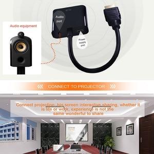 Image 5 - Tishnic HD 1080P adaptador de HDMI a VGA, convertidor de Audio de Cable macho a hembra, Digital a analógica, HDMI, VGA, adaptador de Cable de Audio para TV
