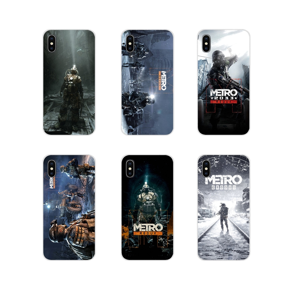 Accessories Phone Cases Covers For Huawei P Smart Mate <font><b>Honor</b></font> 7A 7C 8C 8X <font><b>9</b></font> P10 P20 Lite Pro Plus Game Poster <font><b>Metro</b></font> <font><b>2033</b></font> image