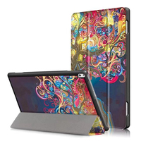 Leather Case For Lenovo Tab 4 TAB4 10 Plus TB X704F N Case Painted Print PU