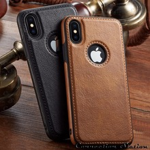 Vintage Leather Case Cover for iphone