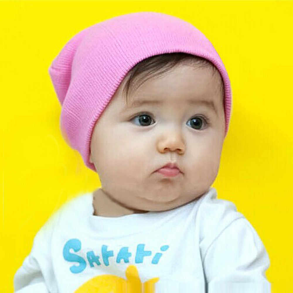 หมวกสำหรับทารกร้อนขายเด็ก Beanie เด็กหญิงนุ่มหมวกเด็กฤดูหนาวเด็กหมวกถัก