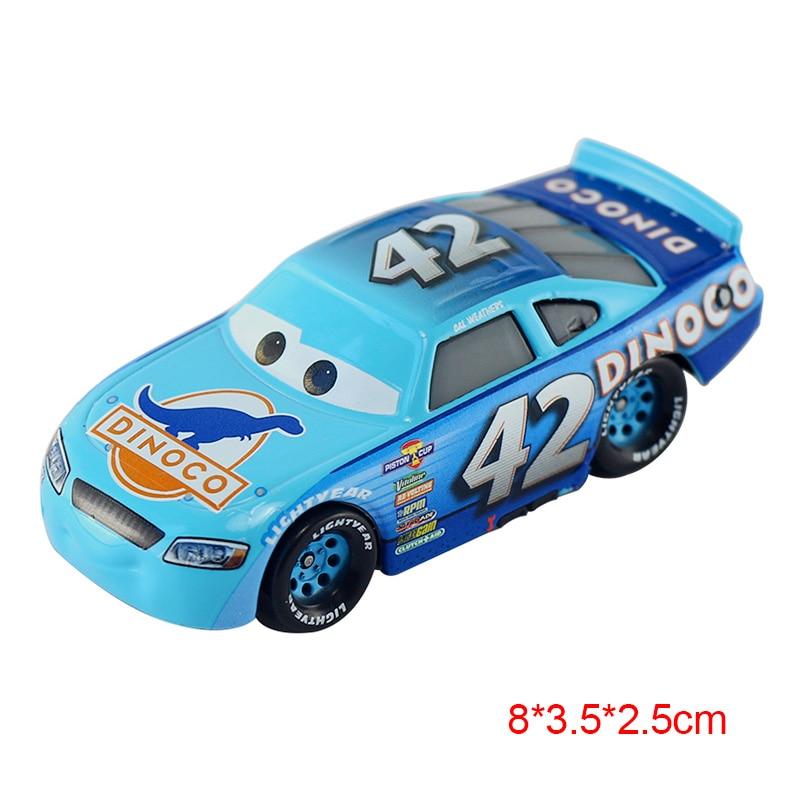 Дисней Pixar Тачки 2 3 Молния Маккуин матер Джексон шторм Рамирез 1:55 литье под давлением автомобиль металлический сплав мальчик малыш игрушки Рождественский подарок - Цвет: 42H 3.0