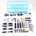 1box Tattoo accessories set shrapnel The quartet iron grip buckle for tattoo power supply tattoo kits equipment tools