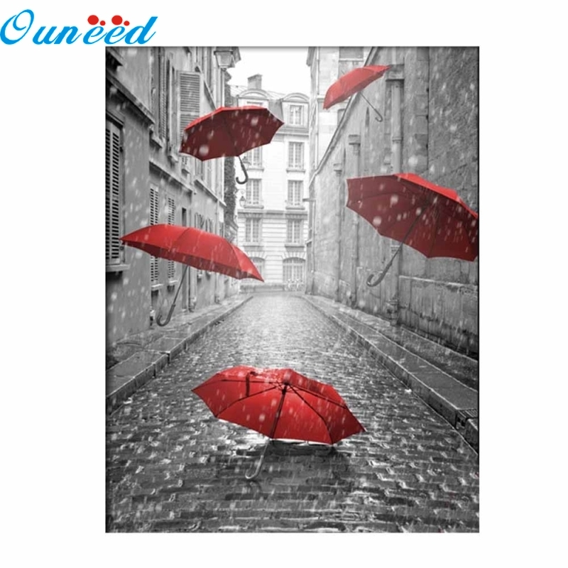Ouneed 5D Cross Stitch Embroidery Paintings Rhinestone Pasted Diy Diamond painting Cross Stitch 1 Piece suzhou hand embroidery sided embroidery chinese style embroidery fan series of paintings decorative painting features
