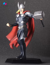 Kissen Cartoon Thor The Avengers Age of Ultron 17cm PVC Action Figure Collection Model Kids Toy Doll