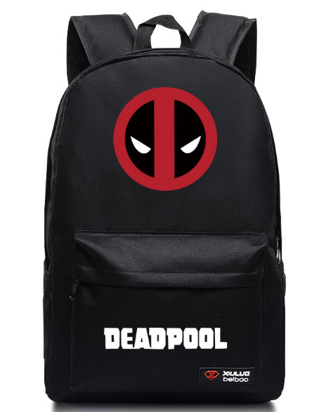 2017 Marvel Backpack for teenagers Deadpool Printing School bags Candy Color Unisex Mochila School Bags For Girls Boys Children crossing the animal printing backpack children school bags for teenagers boys bag kids backpacks prints dinosaur mochila bag