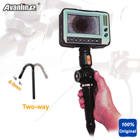 Handheld OD 8 0mm Industria Video Borescope 2 Way Direction Inspection Camera Industry Endoscope 4 3