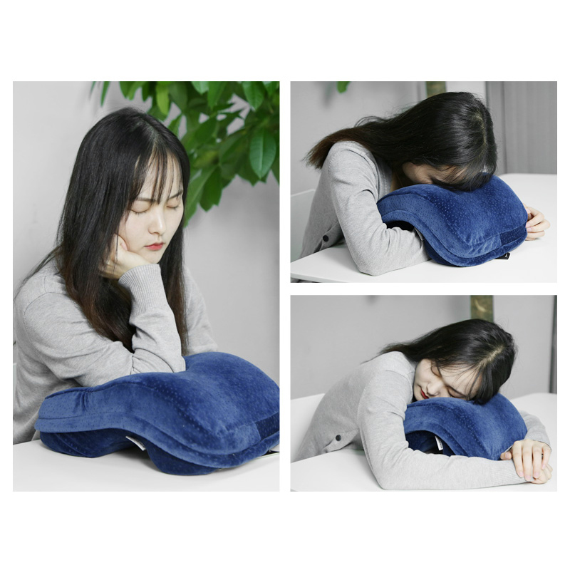 Us 23 51 44 Off Noyoke Memory Foam Office Noon Nap Pillow Breathable Desk Sleep Cushion Slow Rebound Free Hands In Body Pillows From Home Garden