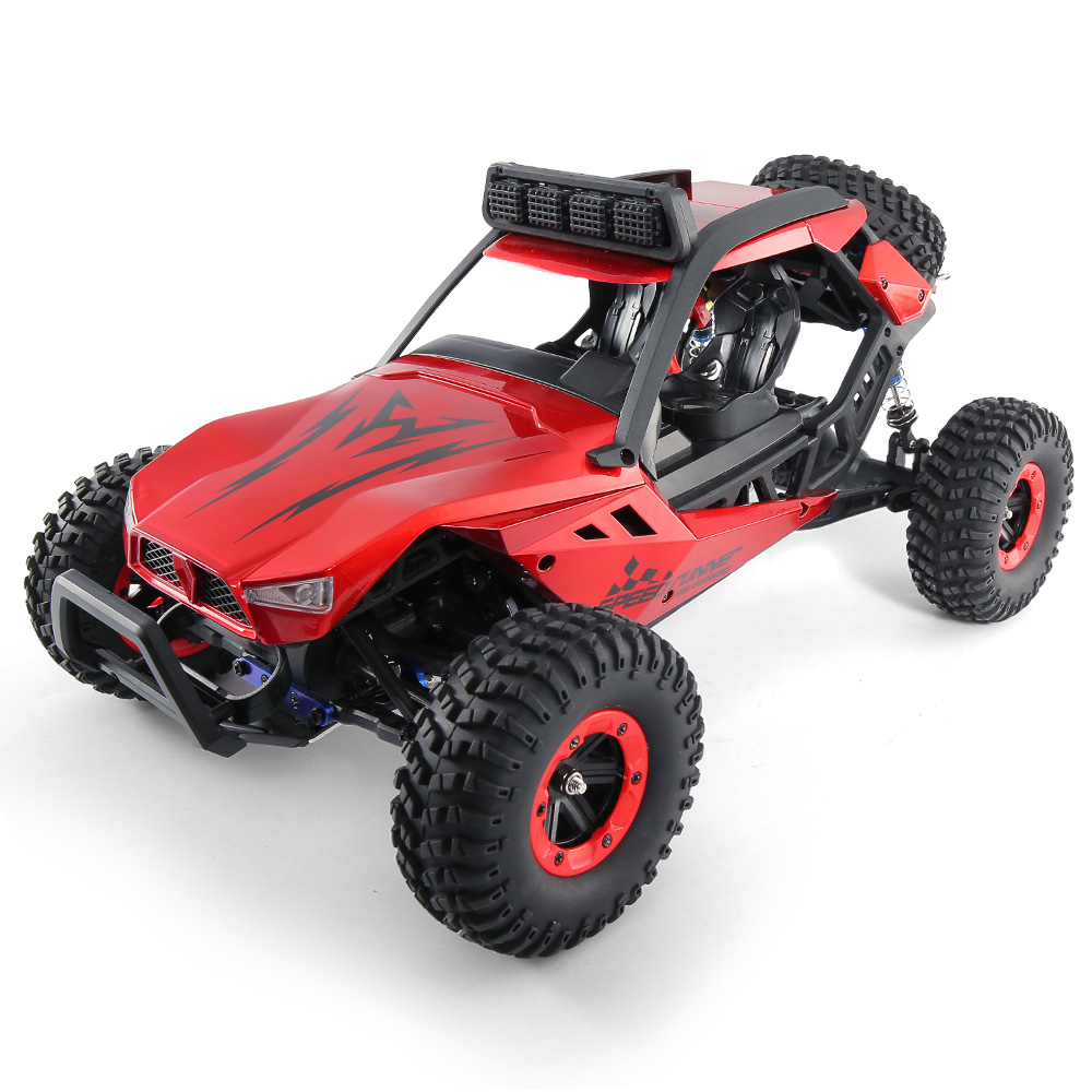 JJRC JJRC Q46 112 2.4G RC Car 4WD 45kmh High Speed Rock Crawler Desert Buggy Cars RTR for Kids Children Gifts RC Toys (11)
