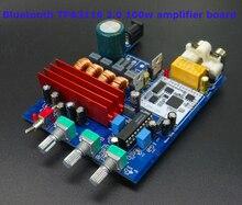 TPA3116 2.0 Bluetooth 4.0 audio Digital tablero del amplificador de alta fidelidad 100 w Altavoz protegida + LM1036 graves Agudos ajuste de Sonido claro