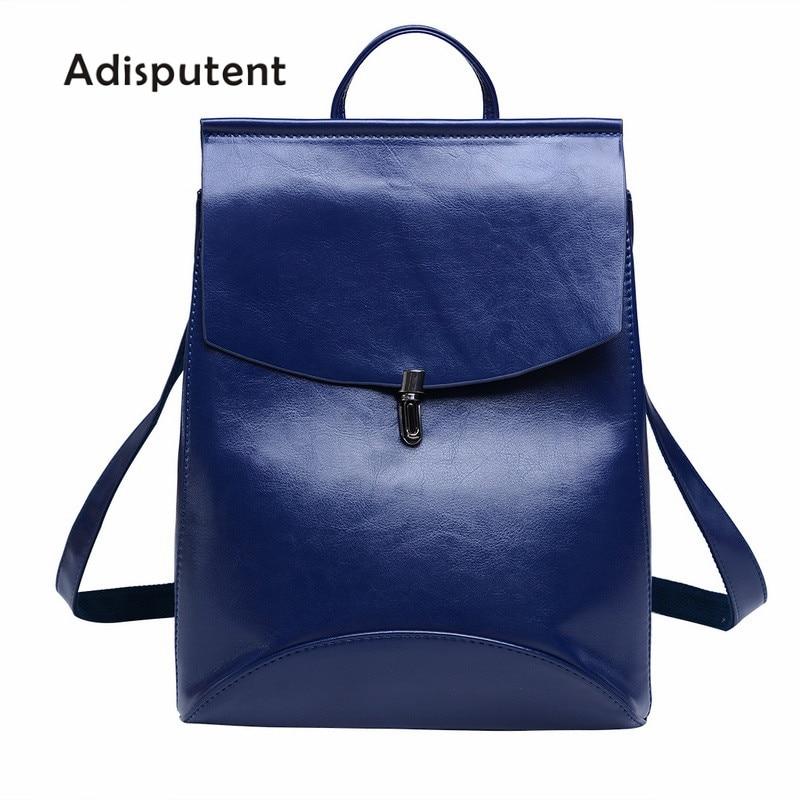 2018 Fashion Women Backpack High Quality PU Leather Backpacks Female Teenage Girls Female School Shoulder Bag Bagpack Mochila