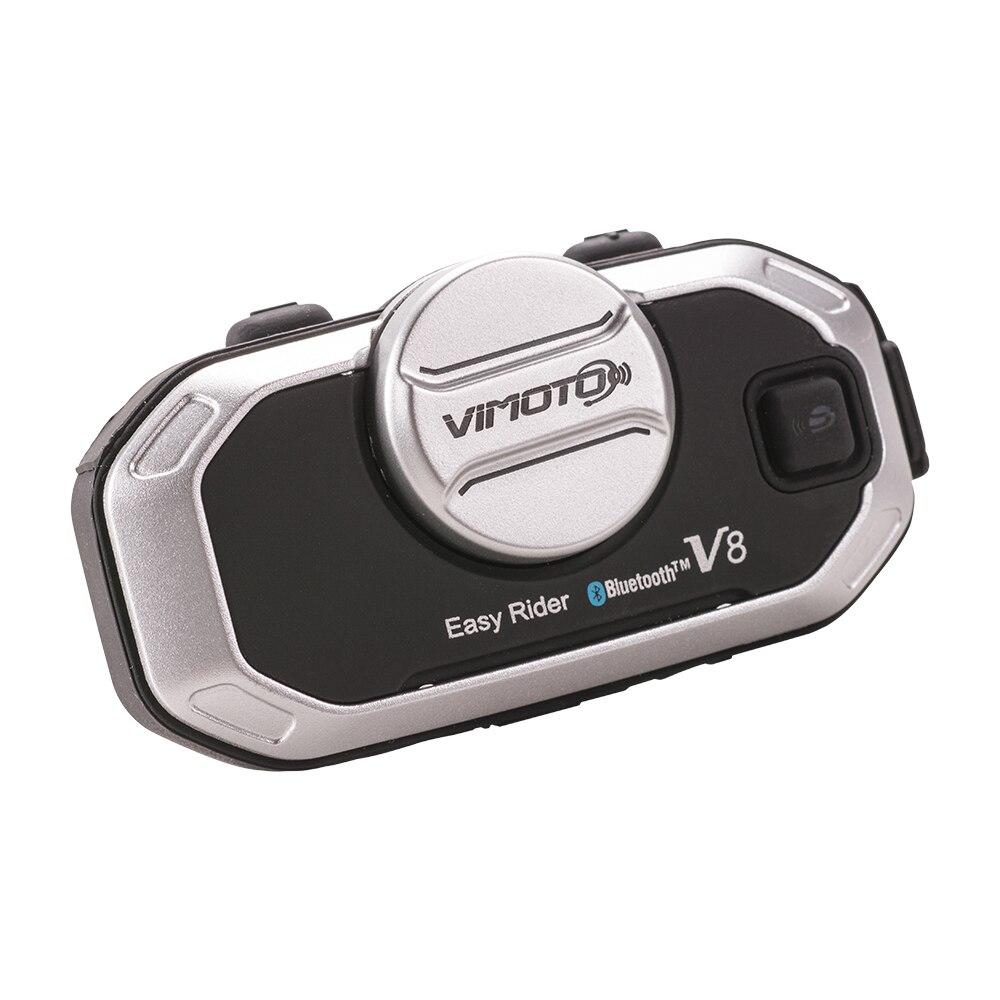Мотоциклетный шлем домофон гарнитура всадники V8 BT Bluetooth шлем гарнитура Беспроводные мотоциклетные гарнитуры громкой связи - 2