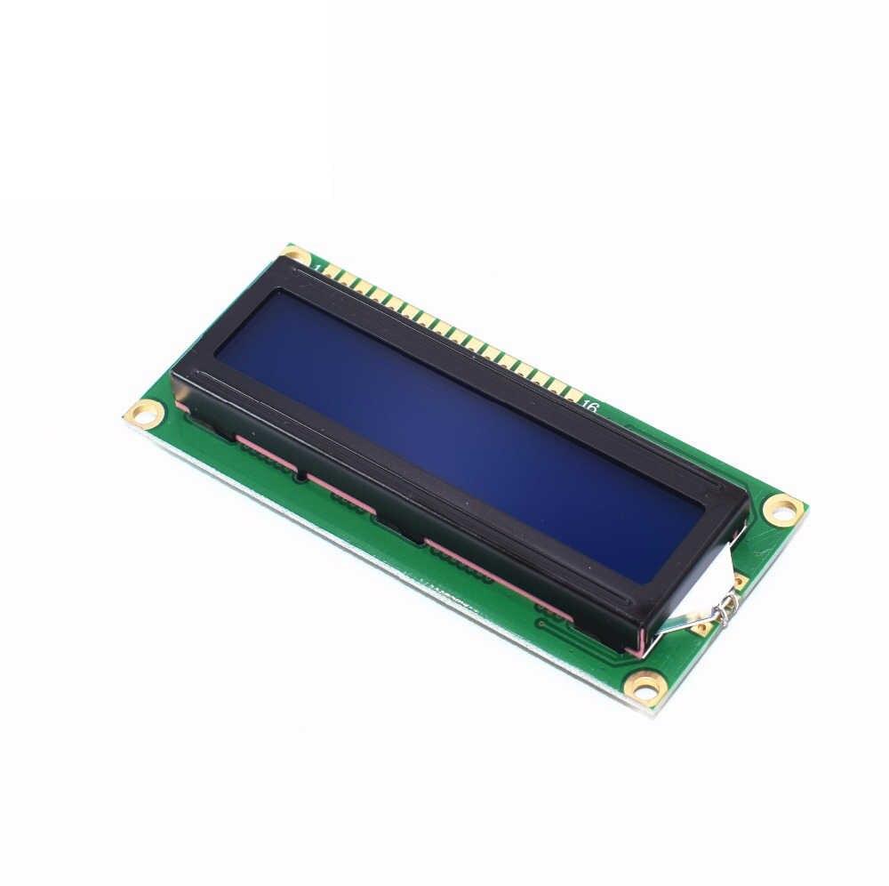 1602 série LCD Module affichage avec rétro-éclairage bleu/vert HD44780 contrôleur caractère pour Arduino Uno R3 Mega 2560