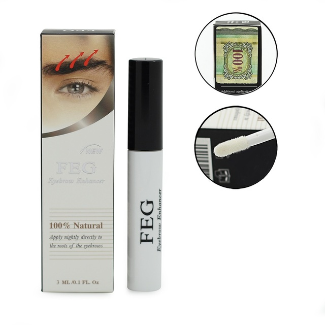 193c8431fac 1PCS FEG Eyebrow Enhancer Growth Treatments Pumps & Enlargers by Eyes  Makeup Eyebrow Enhancers Liquid Cosmetic Eye Brow Longer