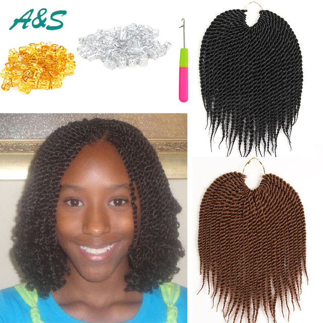 Silk Crochet Braids Curly Crochet Hair Extensions Short Bob Baby