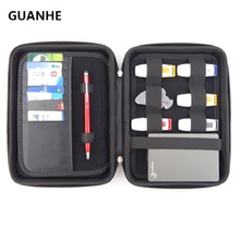 GUANHE High Quality Big Waterproof Bag for External Hard Drive Disk/Phone/Camera/ Portable HDD Box Case Doctor Receive Package