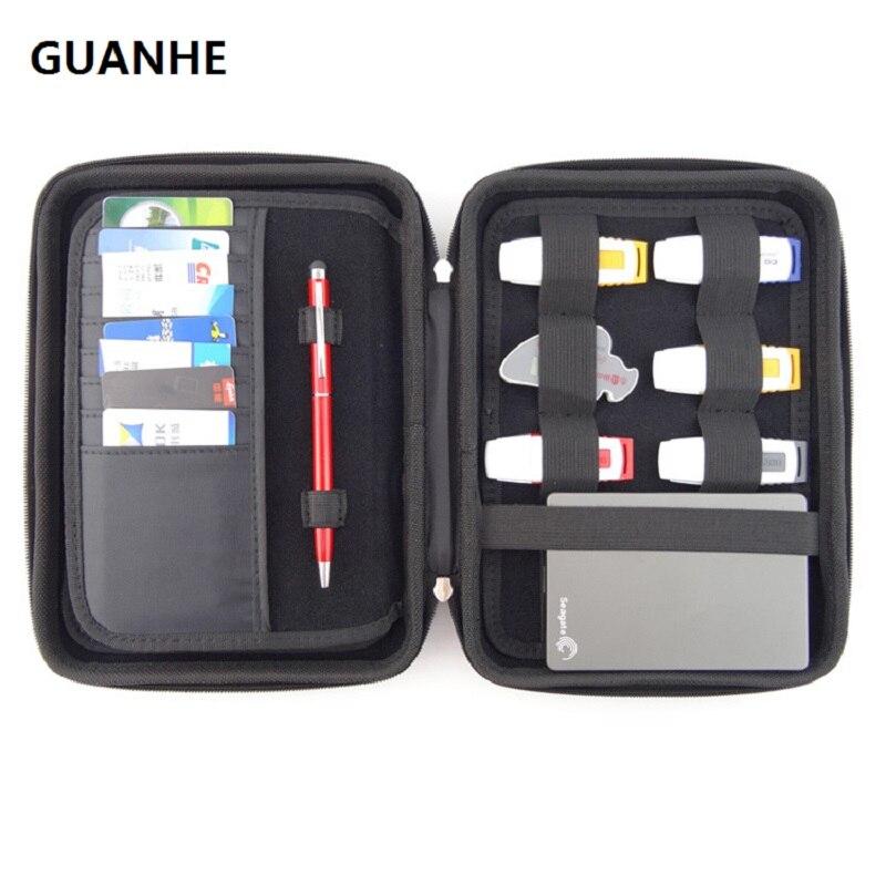 GUANHE, Gran Bolsa Impermeable De Alta Calidad Para Disco Duro Externo/teléfono/cámara/estuche De Caja De HDD Portátil, Paquete Médico