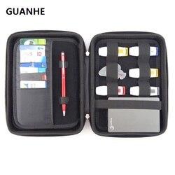 Guanhe جودة عالية كبير للماء حقيبة الخارجية محرك القرص الثابت/الهاتف/الكاميرا/محمول hdd صندوق حالة طبيب تلقي حزمة