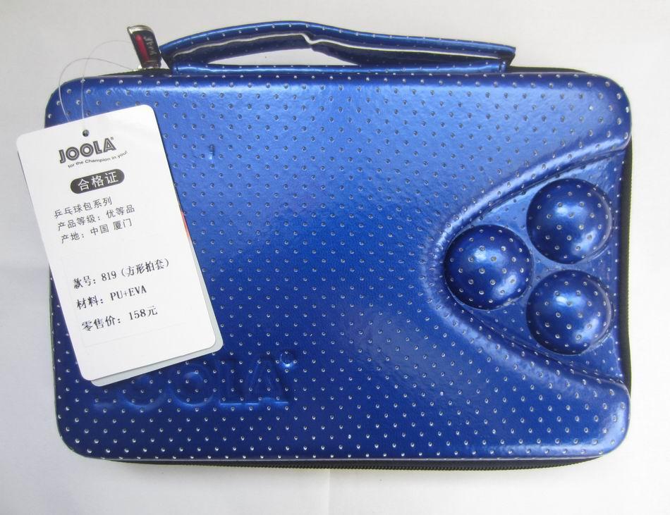 Γνήσια τσάντα τένις Joola πλατεία τένις b819 υψηλής ποιότητας σκληρό κέλυφος ορθογώνιο τραπέζι τένις τένις ρακέτες πινγκ πονγκ
