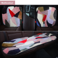 Sheep cashmere Car Seat Covers for ford fiesta focus 2 3 mk2 mk3 mondeo mk4 mk3 fusion mustang s max ranger auto products cover