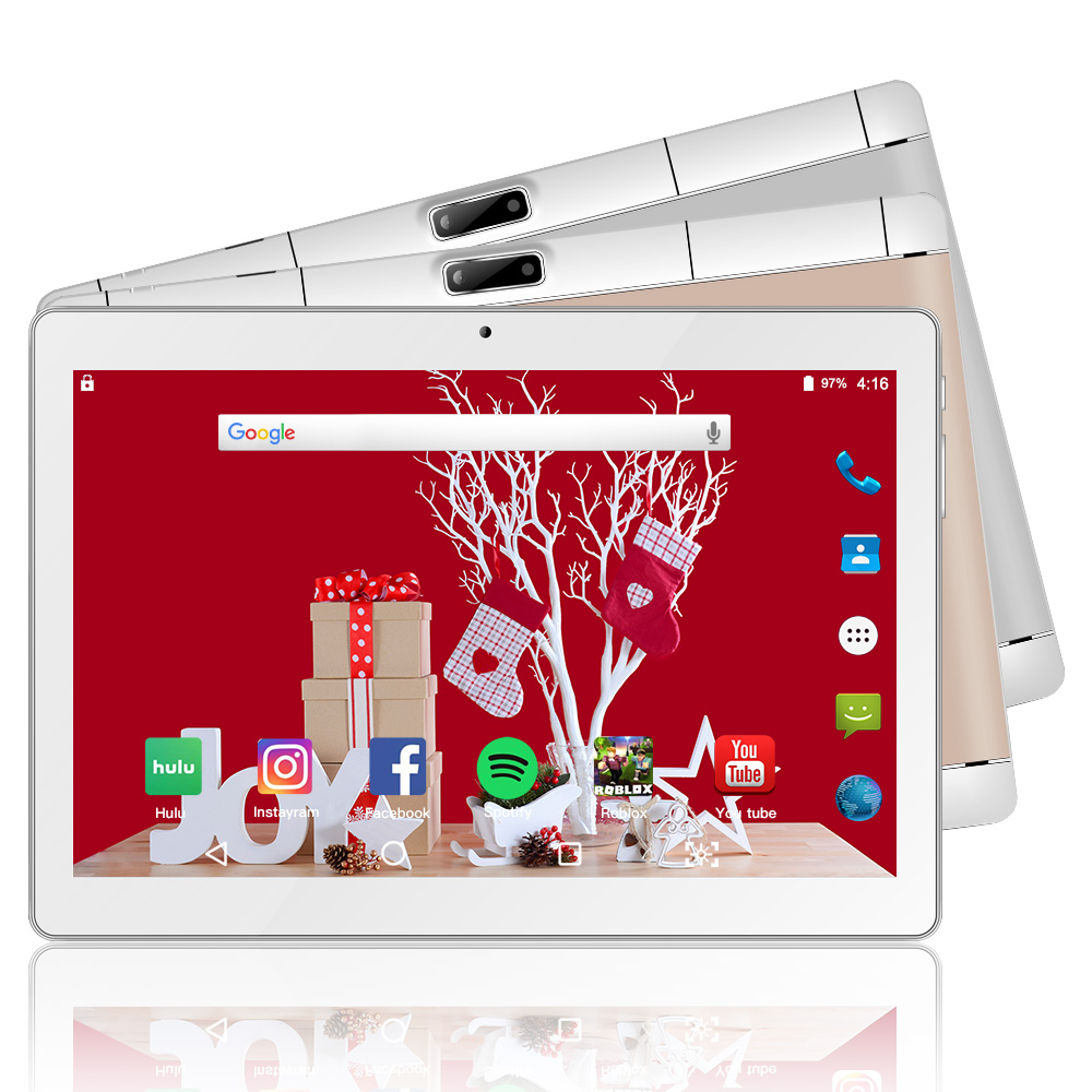 10.1 Inch Tablet Android 8.0 2G+32G Storage 2MP+5MP Camera 3G Phone Call Tablet Dual SIM Card