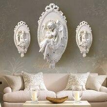 2 Size Choose Europe Retro Beautiful Women Sculpture Hotel Bar Corridor Wall Hanging Decoration Creative 3D Emulate Statue