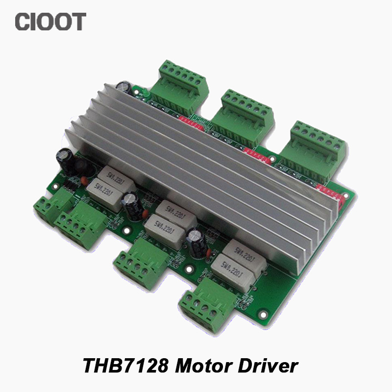 Free Shipping H Bridge DC Stepper Motor Drive 42/57 Two Axis 3A CNC Motor Driver For Milling Machine Tools