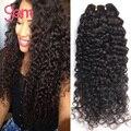 Peruano Kinky Curly Virgem Cabelo 4 Bundles Peruano Virgem Cabelo Peerless profunda Encaracolado Cabelo Virgem Peruano Onda Profunda Do Cabelo Humano 1b