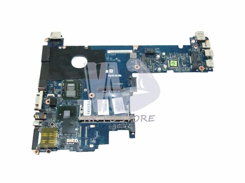 598762-001 LA-5251P Main Board For Hp ELITEBOOK 2540P Laptop Motherboard i7-640LM GMA HD DDR3 qiwg7 la 7983p main board for lenovo g780 laptop motherboard hm76 gma hd ddr3 100