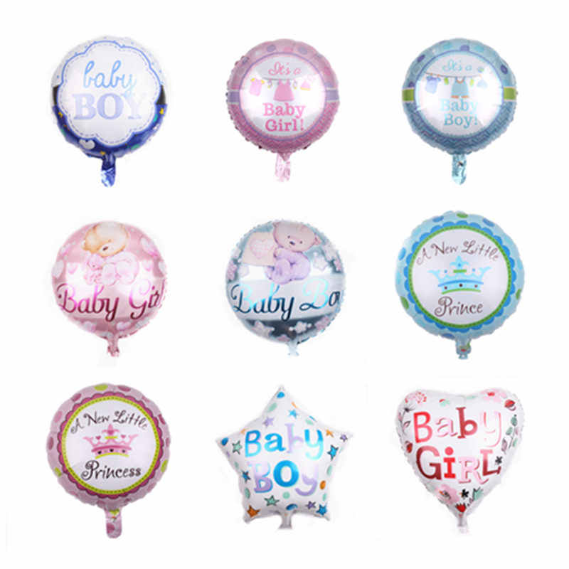 TSZWJ  New 18-inch baby series aluminum balloon baby birthday party holiday layout balloon high quality