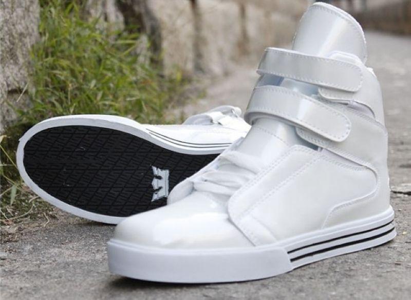 Fashion Mens High Tops Hip Hop Shoes Casual Bieber Shoes
