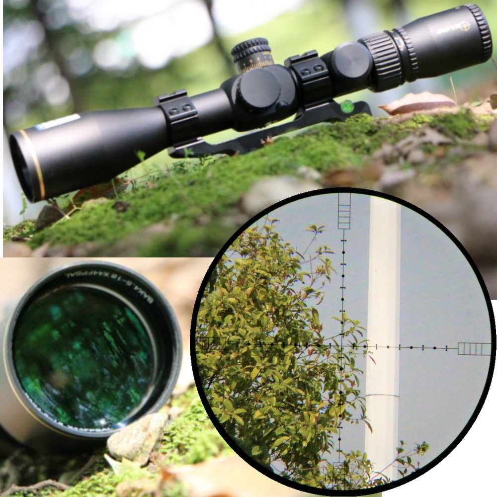 Sniper BAK4.5-18/44FPSAL 4026 First Focal Plane Hunting Rifle Scope Side Glass Etched Reticle Tactical Optical Sight Riflescopes