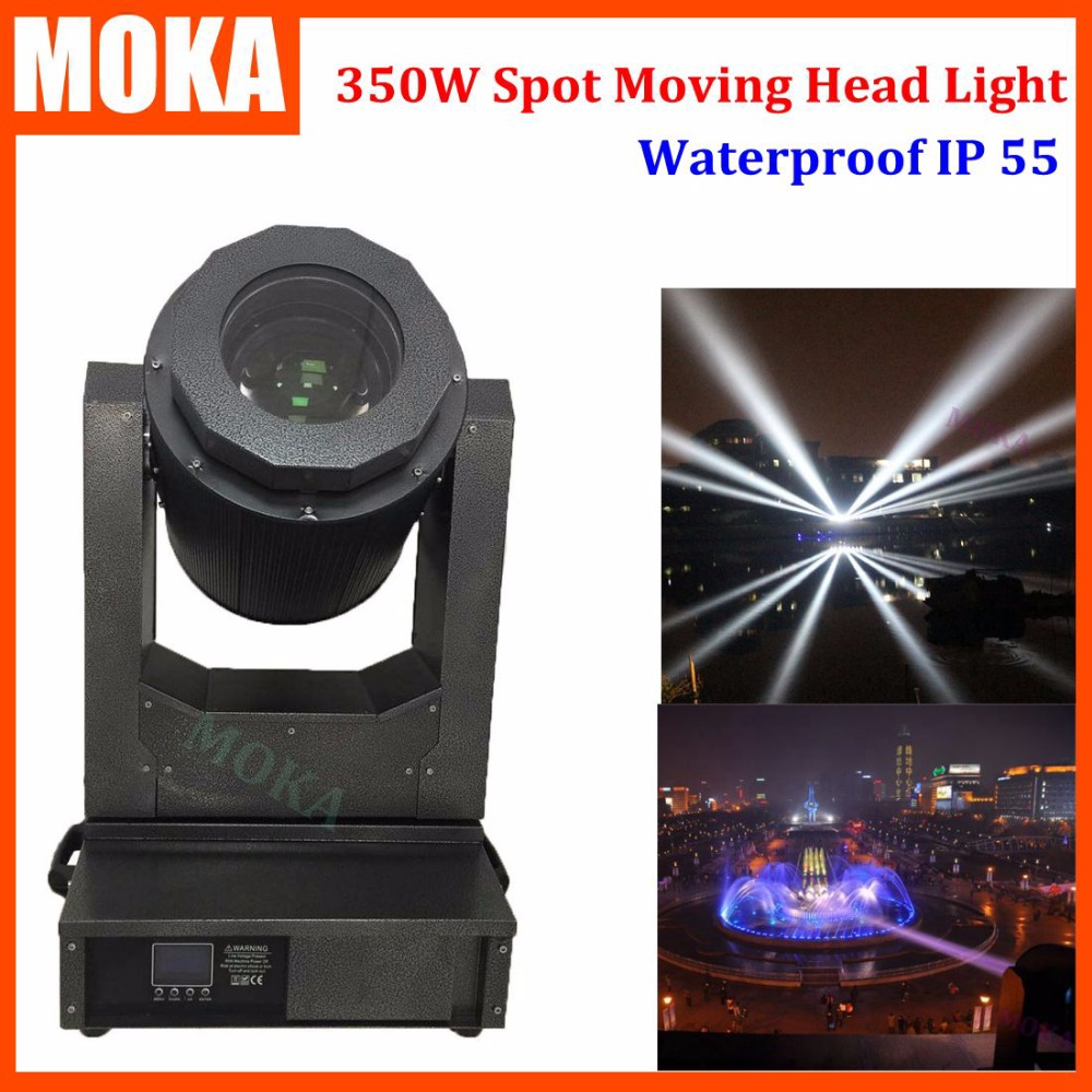 1 Pcs/lot High brightness 350W17R Sharpie moving head beam light waterproof light outdoor moving head led wash light fixtures