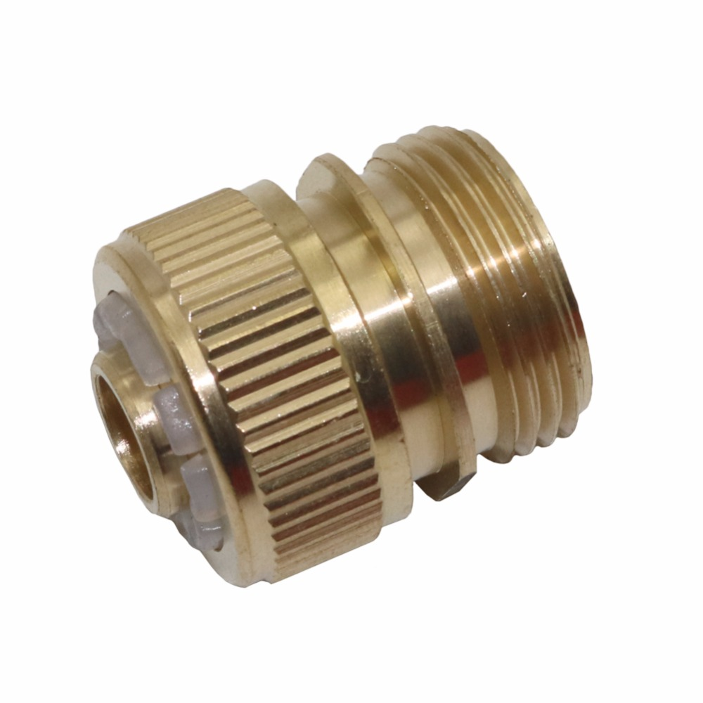 5 Pcs 3/4 inch external thread connector copper garden hose ...