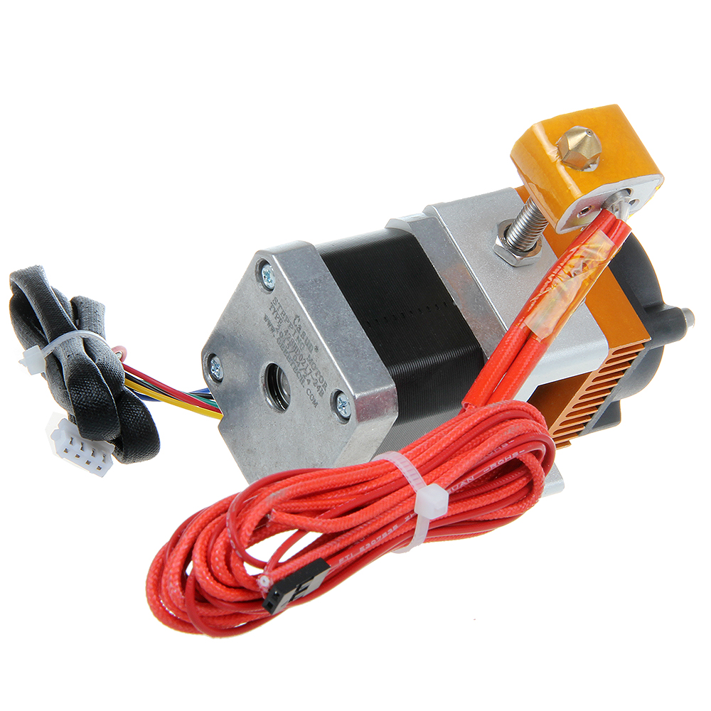 Geeetech Newest 0.3mm Nozzle 2.0mm Chock MK8 Extruder Print Head for 3D Printer Reprap Mendel Makerbot 12V Free hipping