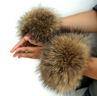 2015 Imitation Fox Fur Cuff Cuff Wrist Decoration