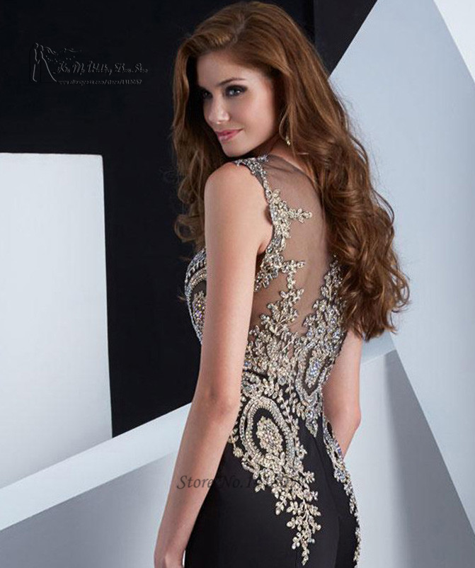 749feeebc5f Or dentelle noir sirène Robe de soirée 2016 Robe de soirée longue élégant  robes de bal dété Pageant robes Couture de la boutique en ligne ...