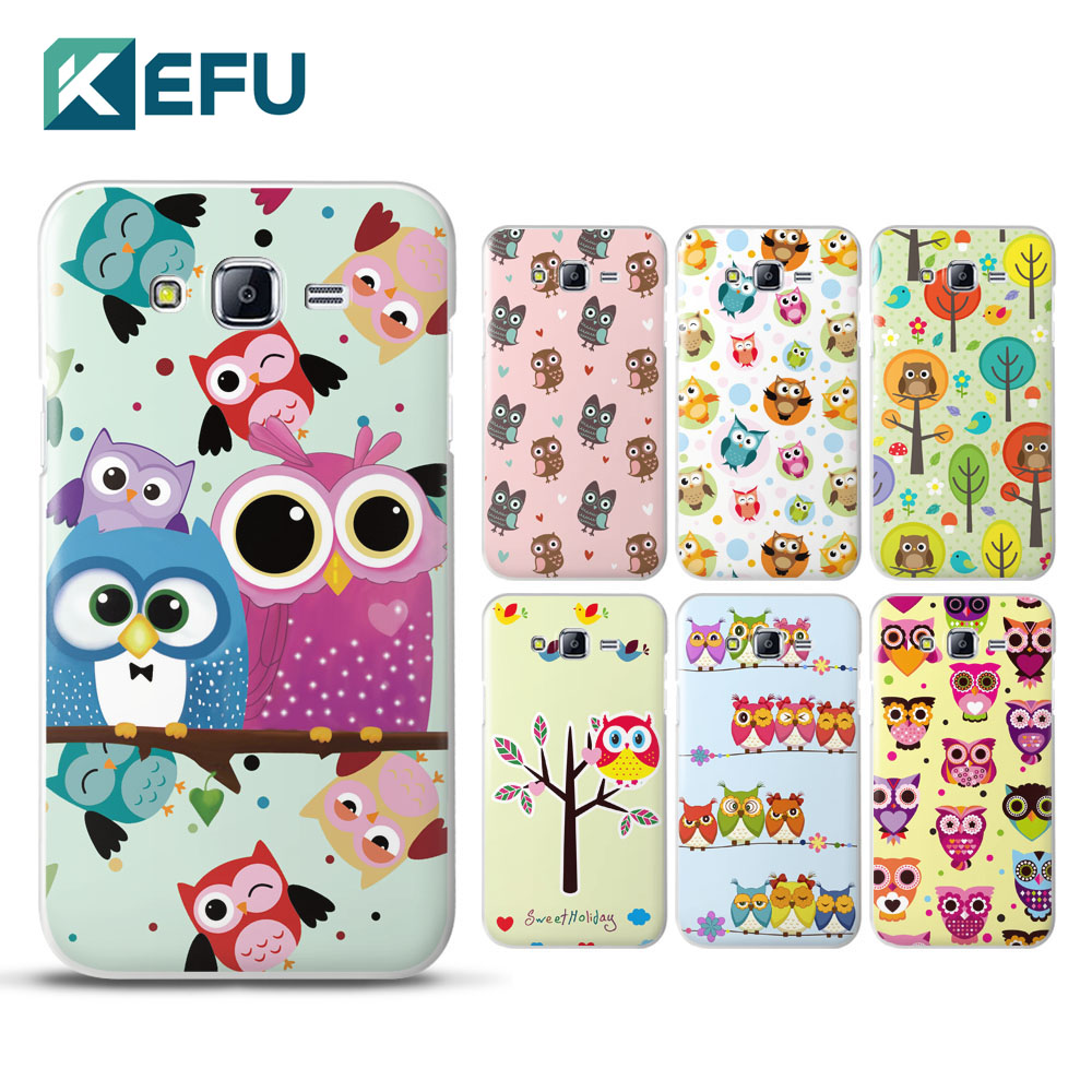 For coque samsung J7 case cute cartoon owl PC cover for samsung galaxy J7 2016 new arrivals for fundas samsung galaxy J5 J7 case