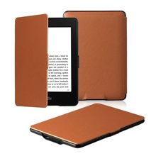 dc57cd1d5728f Para Amazon Kindle Paperwhite Caso 4, Caso do PLUTÔNIO Multicolor PU Capa  De Couro Auto