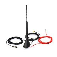 DAB/DAB + Auto Radio Antenne Amplifiée Toit Mount Antenne AM/FM Din SMA Mâle Connecteur 5 m câble pour AutoDAB + Radio